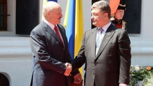 Александр Лукашенко, Рабочий визит, Петр Порошенко, Беларусь, Минские соглашения, Конфликт на востоке Украины