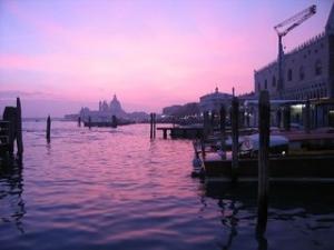 Италия, Венеция, манифестация,