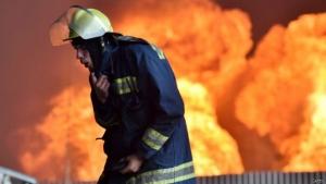 Новости Украины, Новости Киева, пожар под Киевом,