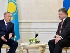 Казахстан, Назарбаев, Украина, Порошенко, уголь, поставки, договоренность