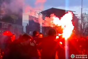 черкассы, столкновения, полиция, украина, порошенко, геращенко, доник, азов, арьев