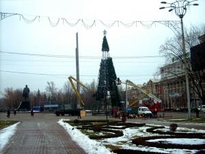 Донецк, режим тишины, ДНР, война в Донбассе, АТО, мэрия Донецка