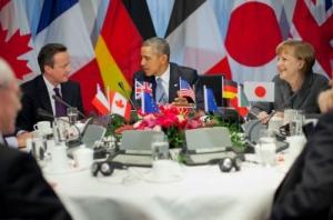 Германия, Большая семерка, саммит G7, политика, общество, сша, обама, меркель, франция, россия, украина, санкции, великобритания