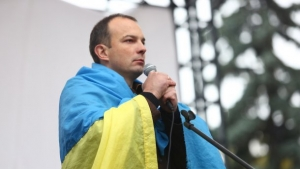 """Украина, Киев, Митинг, Верховная Рада, Егор Соболев, """"Самомомочь"""" Протест, Драка, Палаточный городок"""