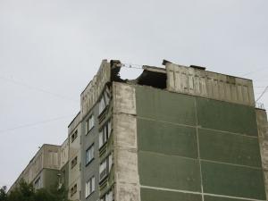 Бои в Луганске: обстрел из «Градов», разрушенные дома