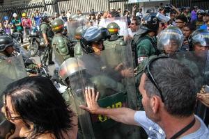 Венесуэла, теракт, полиция