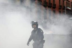 игуал, мексика, протесты в мексике, полиция игуала, разоружение