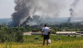 станица луганская, взрывы, ато, военные действия