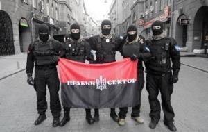 правый сектор, киев, посольство россии, митинг