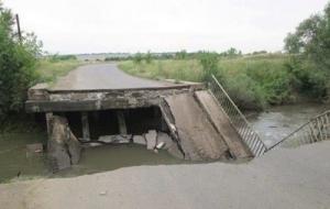 Луганск, АТО, мост, река, взрыв