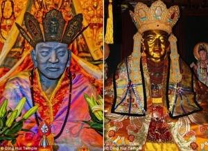монах, мумия, буддизм, медицина, религия, фото