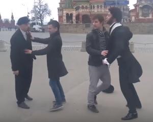 ленин, пушкин, драка , кремль, москва, общество, конфликт