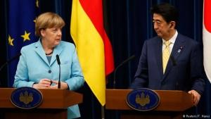 меркель, япония, общество, политика, санкции