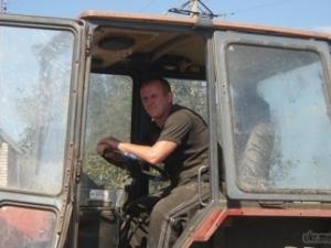 армия, служба, украина, тракторист