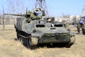 украина, война на донбассе, горловка, всу, оос, обострение, тымчук, зу-23-2