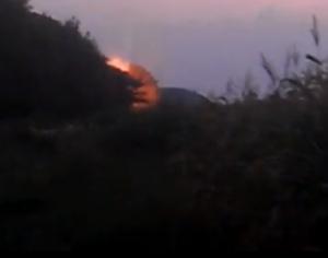 центральная газовая труба, донецк, возгорание, ато, взрыв, снаряд, последствия