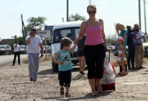 Украина, Мариуполь, Донецк, Донбасс, ДНР, беженцы, Хотлубей