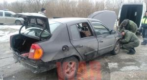ДНР, восток Украины, Донбасс, Россия, МВД, взрыв, машина, фото