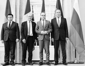 Нормандская четверка, ООН, переговоры