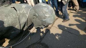 Ленинопад, памятники Ленину, новости Украины, происшествия, криминал, политика