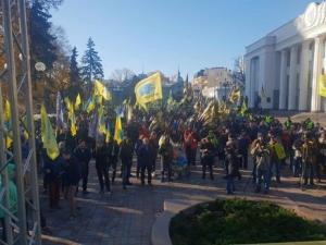 АвтоЕвроСила, евробляхеры, еврономера, Народный фрон6т, напали на депутата, Иван Савка