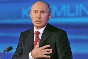 Крым после аннексии, Владимир Путин, Рабочий визит, Российская агрессия