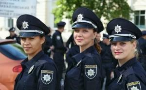 полиция украины, девушки в полиции, новая патрульная служба в украине