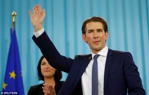 Австрия, Себастьян Курц, новости Украины, посол Украины в Австрии Щерба