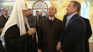 россия, голобуцкий, путин, медведчук, гундяев, монастырь