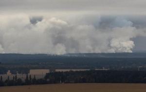 новости, Украина, Ичня, взрывы, пожар, военная база, военные склады, ситуация, ГСЧС, эвакуация