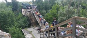 Украина, Россия, США, Станица Луганская, Мост, Ремонт.