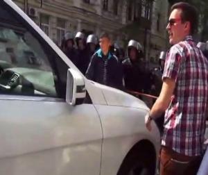 ап, кордон милиции, пьяный водитель, саммит Украина-ЕС