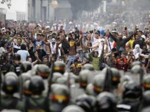 венесуэла, беспорядки, митинги