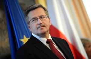 Бранислав Комаровский, Польша, Россия, санкции