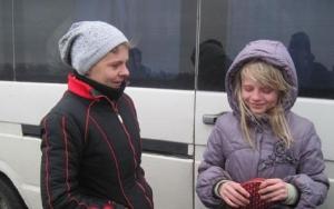 восток украины, зона ато, дебальцево, эвакуированные дети, возвращение, расписка от родителей
