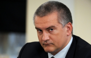 украина, крым, аннексия, россия, аксенов, скандал