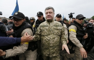 Петр Порошенко, Юго-восток Украины, политика, Славянск, Донецкая область