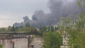 """бровары, пожар, происшествия,""""рембудтехнология"""", фото, общество, украина"""