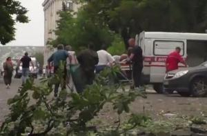 луганск, погибшие, обстановка, горсовет, ато