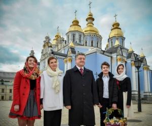 петр порошенко, пасха, поздравление, украина, воскресенье христово