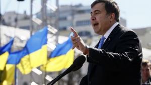 Михаил Саакашвили, Миграционная служба, Лишение гражданства, Возвращение в Украину, Массовые протесты