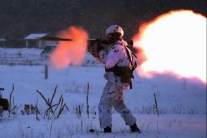 горловка, война, днр, донбасс, артиллерия, д-30, россия, курсант