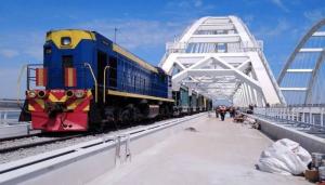 Крым, мост, железная, дорога, Путин, ООН, ЕС, Россия, Украина