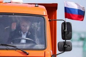 украина, крым, крымский мост, керченский мост путин, скандал, общество