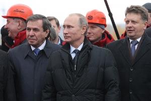 крым, украина, россия, политика, аннексия, мост, путин, открытие