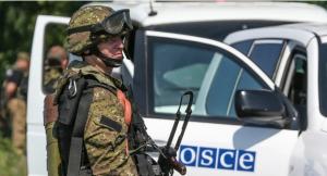 миссия ОБСЕ, ДНР, террористы, поселок Седово донецкая область, отчет ОБСЕ