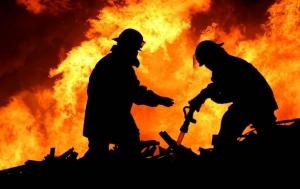 ужгород, пожар, пожар в многоэтажном доме