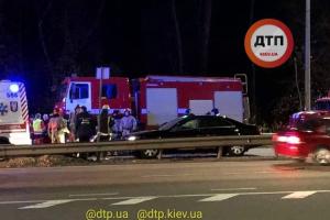 маршрутка, взрыв, украина, киев, полиция, мотоцикл, происшествие