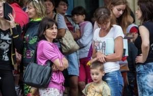 зеленый коридор, луганск, местные жители, выезд