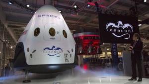 грузовой корабль Dragon, сша, мкс, космос, наука и техника, ввс сша